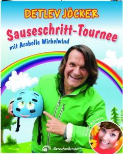 2 Plakat Sauseschritt-Tournee