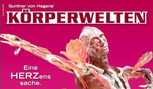 KÖRPERWELTEN – Eine Herzenssache – Ausstellung mit Expertenvorträgen in Mainz