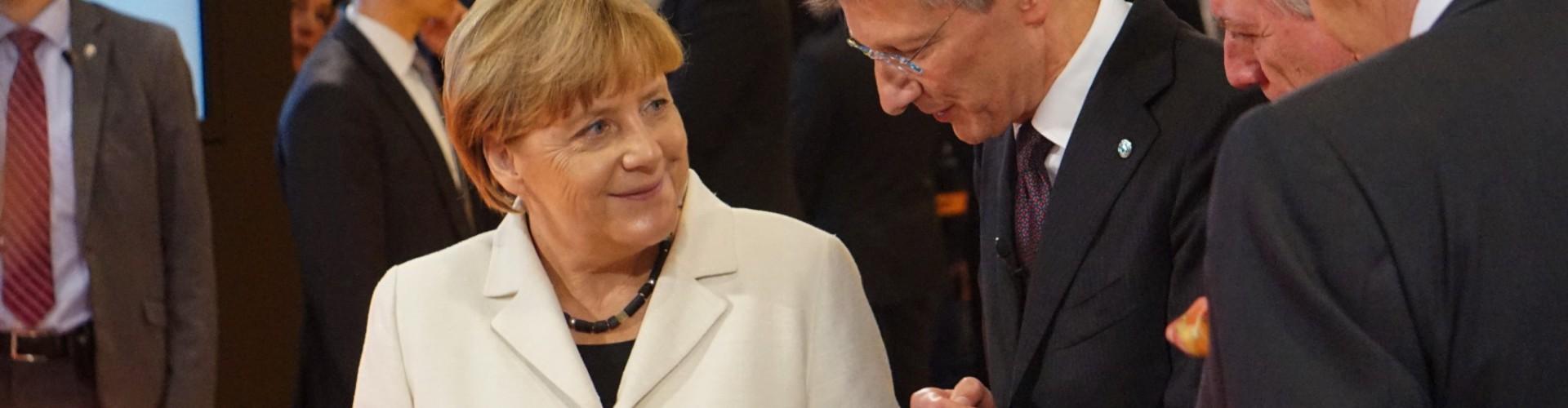 Bundeskanzlerin Merkel eröffnet die IAA – die weltweit wichtigste Mobilitätsmesse