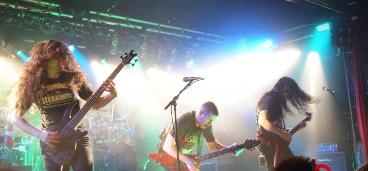 Annihilator, Harlott und Archer im Colos-Saal – Fotostrecke