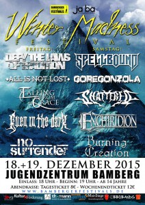 Winter Madness Festival 2015 Flyer