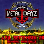 Jubiläumsausgabe der Hamburg Metal Dayz, 23. und 24. September 2016