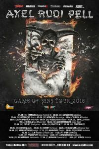 """Axel Rudi Pell – Auf Tour mit seinem neuen Album """"Game Of Sins"""""""