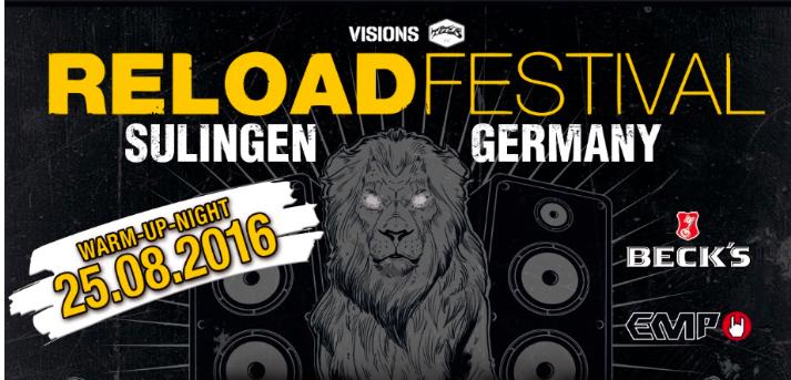 Reload Festival 2016 – Weitere Headliner bestätigt