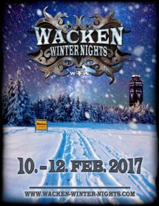 Wacken Winter Nights Plakat