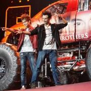 Monstertruck erscheine! – Ehrlich Brothers am 11. Juni 2016 mit beeindruckendem Programm in der Commerzbank-Arena Frankfurt