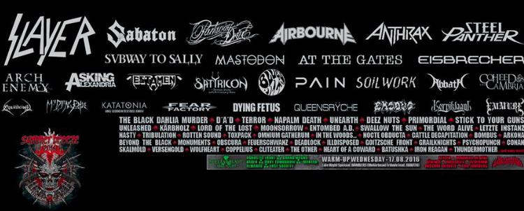 Bereits über 100 bestätigte Bands für das SUMMER BREEZE 2016