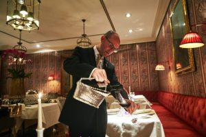 Frankfurter Hof Restaurant Sommelier Frank Mouzon
