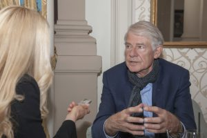 Prof. Dr. Wolf Singer, Hirnforscher und Direktor em. am Max-Planck-Institut für Hirnforschung, Frankfurt/Main im Gespräch mit Jane Uhlig