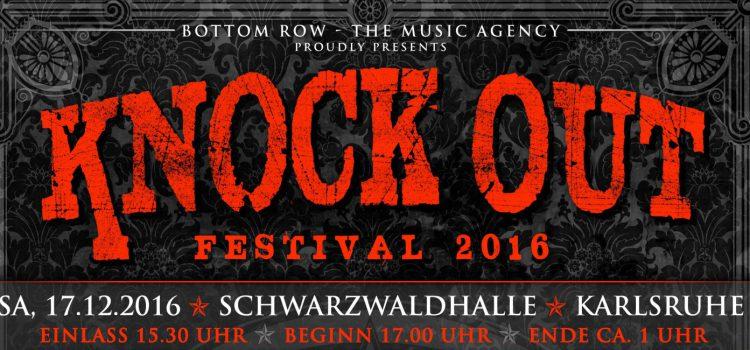 KNOCK OUT FESTIVAL – VIP-Tickets ab sofort imVorverkauf