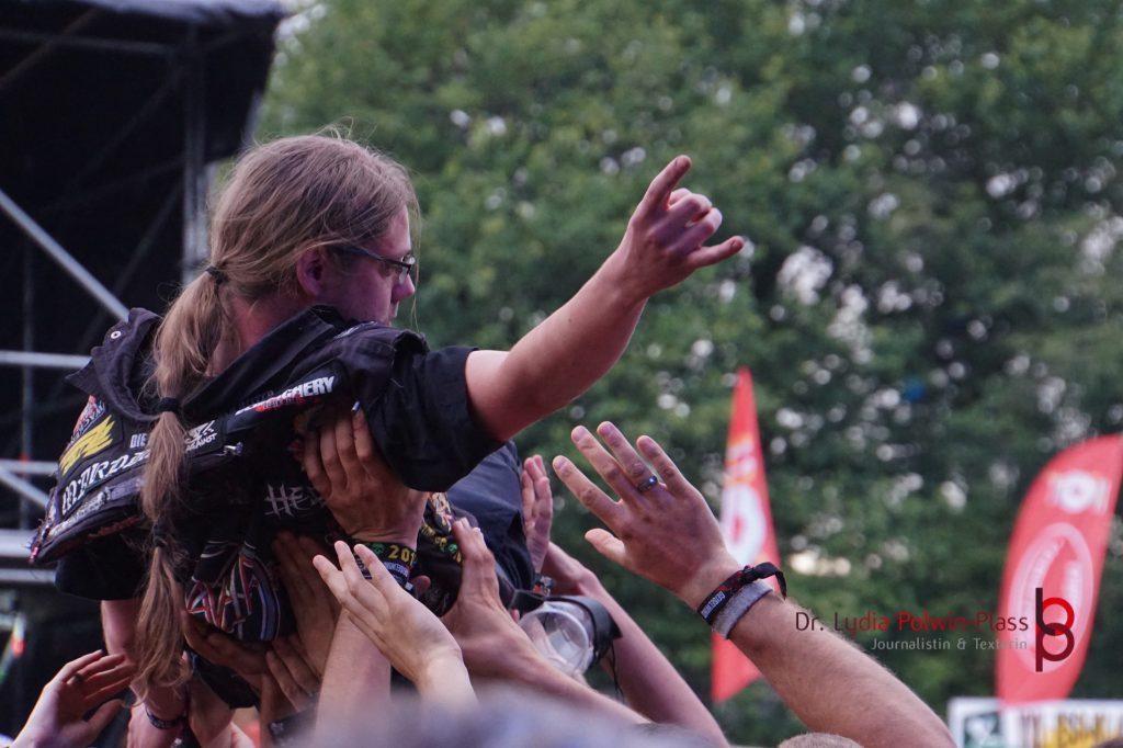 Metal Festival, Out & Loud, Foto: Lydia Polwin-Plass