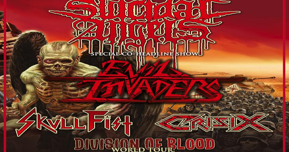 Nachbericht: Suicidal Angels, Evil Invaders, Skull Fist und Crisix im BAMBI GALORE, HAMBURG