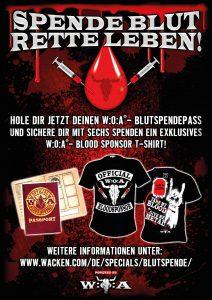 W:O:A Blutspendepass