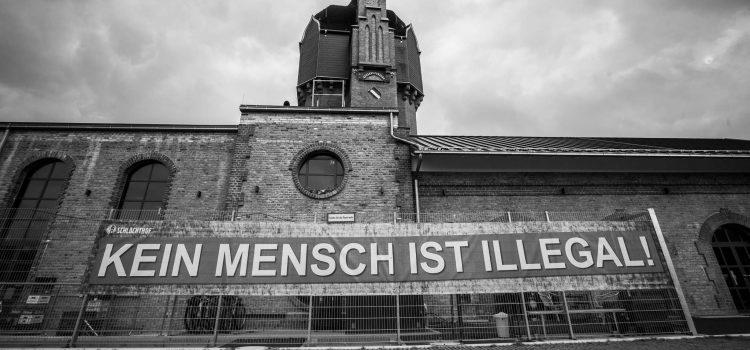 Kein Mensch ist illegal – Eine Botschaft vom Schlachthof Wiesbaden