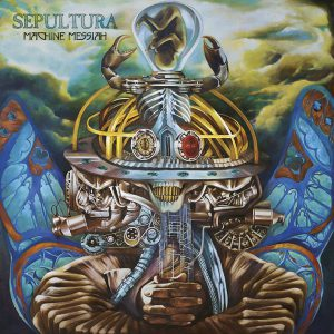 Sepultura - Machine Messiah - Artwork