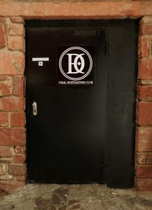 FINAL DESTINATION CLUB Frankfurt Eingang