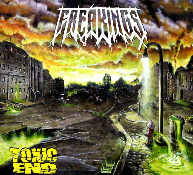 FREAKINGS mit neuem Album TOXIC END