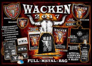Wacken Full:Metal:Bag 2017