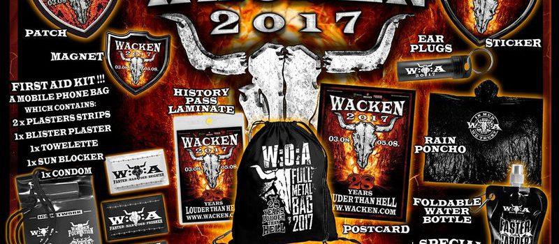 Wacken 2017 – Was wird dieses Jahr in der sogenannten Full:Metal:Bag sein?