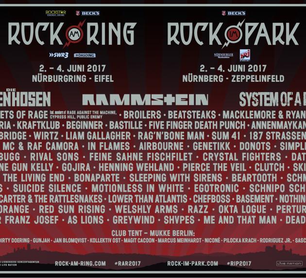 Rock am Ring und Rock im Park 2017 bald ausverkauft!