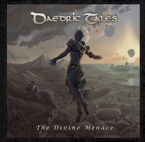 Daedric Tales - THE DIVINE MENACE_Artwork