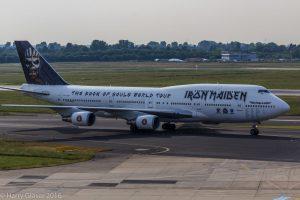Ed Force One_ Flugzeug von Iron Maiden_Foto: Harry Glaeser