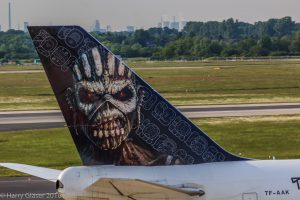 Ed Force One_ Flugzeug von Iron Maiden_Foto: Harry Glaeser