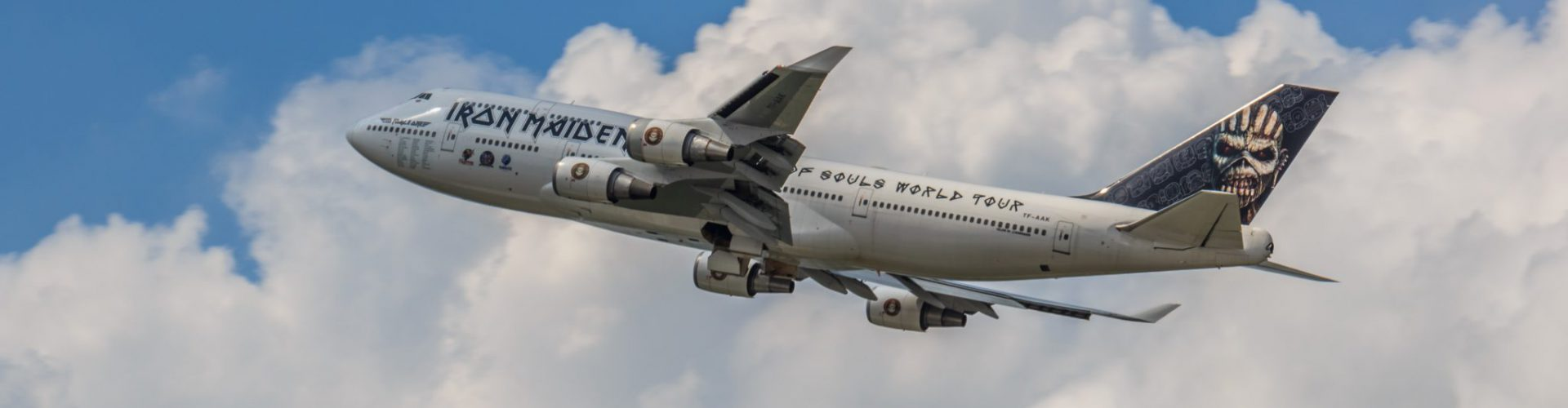 Neue IRON MAIDEN Tour – neue ED FORCE ONE?