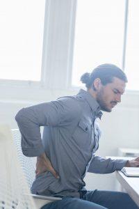 Rückenschmerzen - Pressefoto