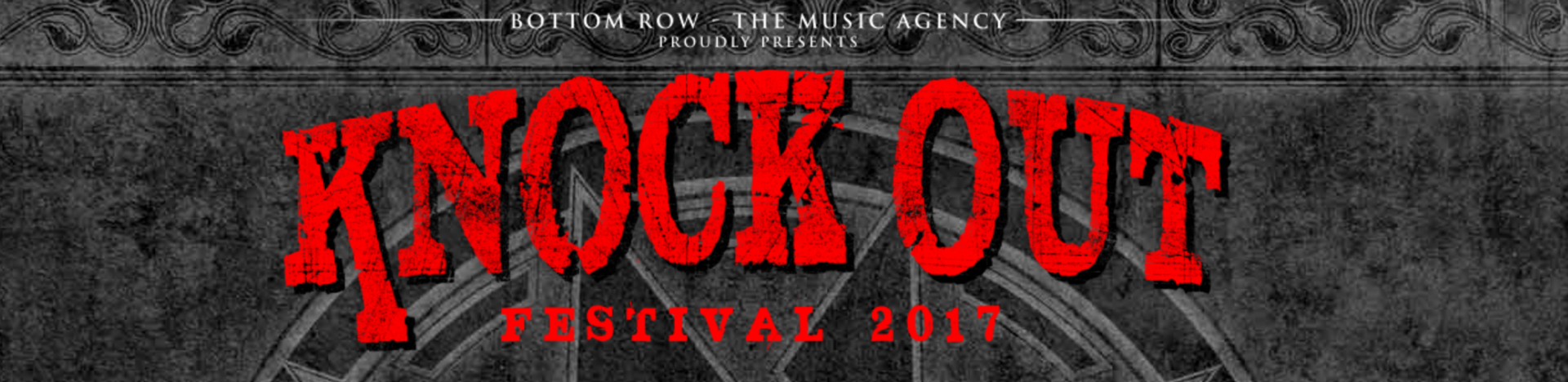 KNOCK OUT FESTIVAL 2017 – Headliner bestätigt!