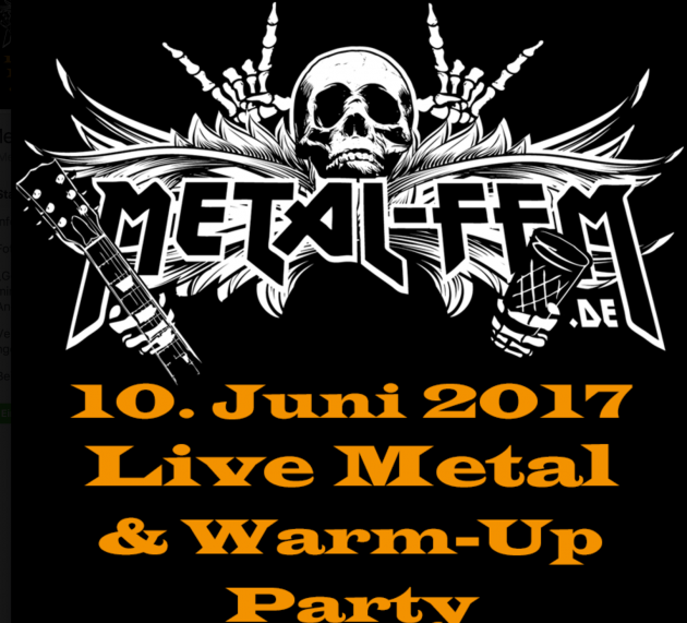 Metal Festival Warm-Up Party 2017