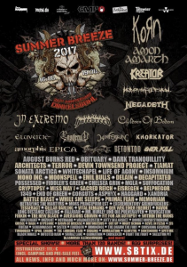 """Blast Bash - 30 Years of Nuclear Blast"" beim Summer Breeze"