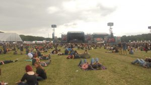 Infield, Blick Main Stages