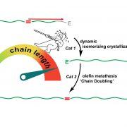 Kettenlänge von Kunststoffmolekülen kann verdoppelt werden