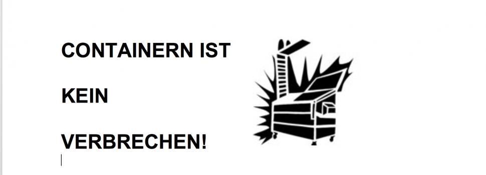 Schockierende Entscheidung des Bundestags – Containern bleibt kriminell