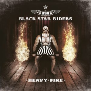 Black Star Riders - Heavy Fire - Artwork
