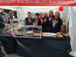 DKMS und Wacken Kuchenverkauf 2016