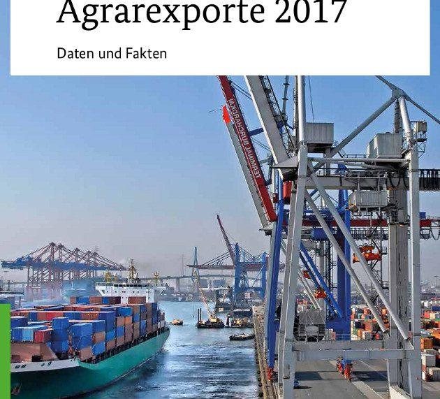 Agrarexport sichert Beschäftigung und Wohlstand