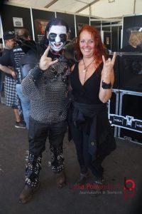 Vegan Black Metal Chef und Lydia Polwin-Plass