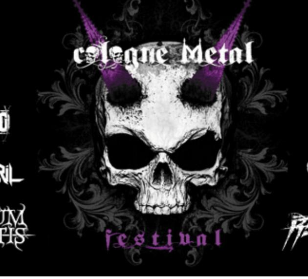 Am 07.10.2017steigt in Köln wieder das Cologne Metal Festival – einen Warm-Up Event gibt es am 23.9.