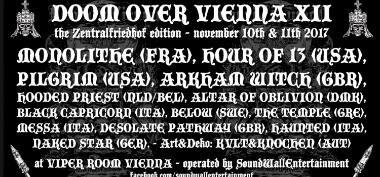 Doom over Vienna XII 2017