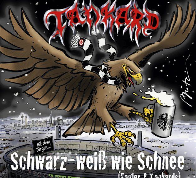 Review: TANKARD – Schwarz-weiß wie Schnee