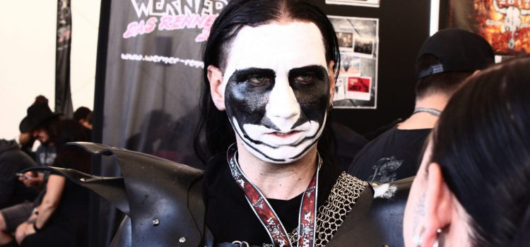 Interview mit dem Vegan Black Metal Chef (in Wacken)