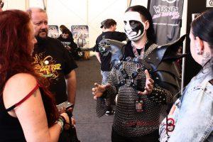 Vegan Black Metal Chef und Lydia Polwin-Plass. Foto: Pedro Jonen