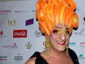 Drag Queen Vanessa P. auf dem LOVEBALL-Frankfurt Foto: Jane Uhlig