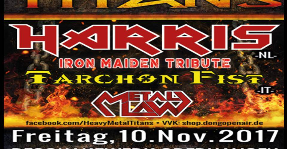Heavy Metal Titans am 10.11. im Resonanzwerk Oberhausen