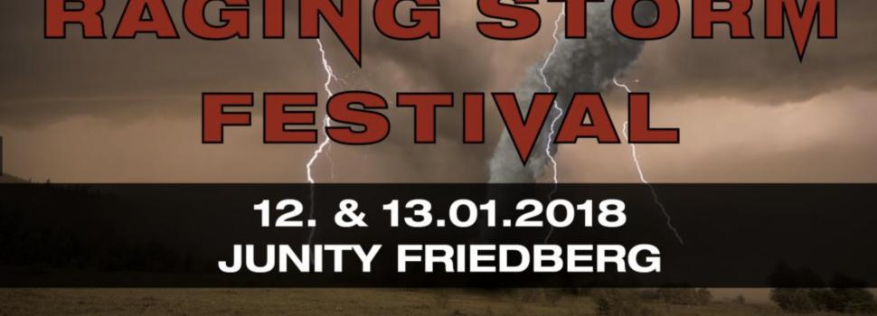 Raging Storm Festival am 12. und 13. Januar im Friedberger Unity