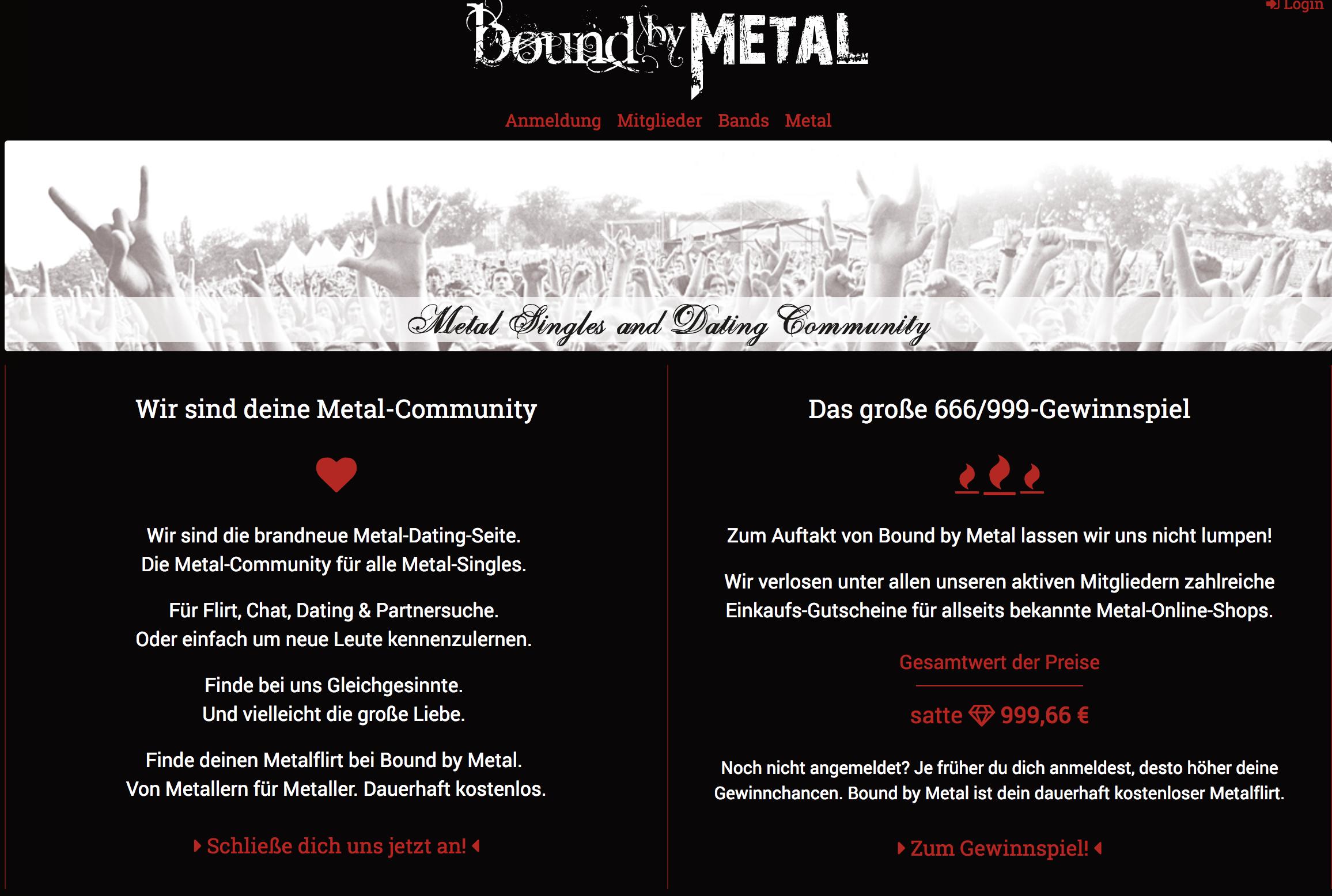 Metalheads kennenlernen