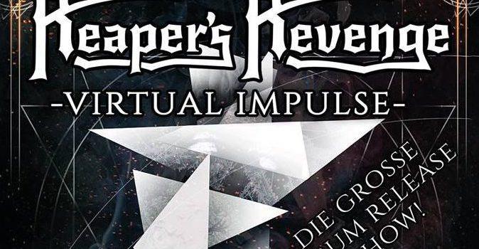 Am 3.2. große CD-Release-Show im Jugendzentrum Klärwerk Amberg mit REAPER'S REVENGE, TARCHON FIST und TEETH OF LAMB