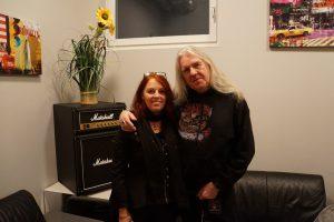 Lydia Polwin Plass mit Biff Byford